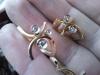 13597а1 золотые серьги с бриллиантами