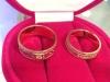 ri1af5d Кольца парные золотые женское и мужское
